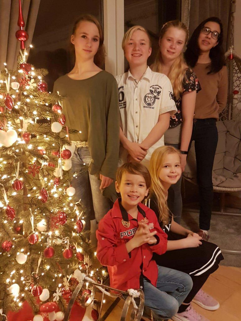 Gastfamilie Weihnachten
